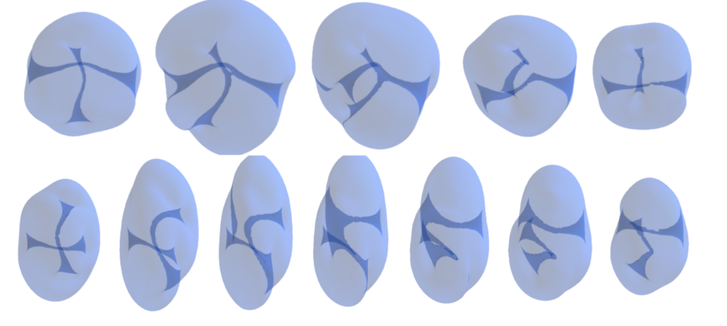 Vortex reconnections in anisotropic trapped three-dimensional Bose-Einstein condensates